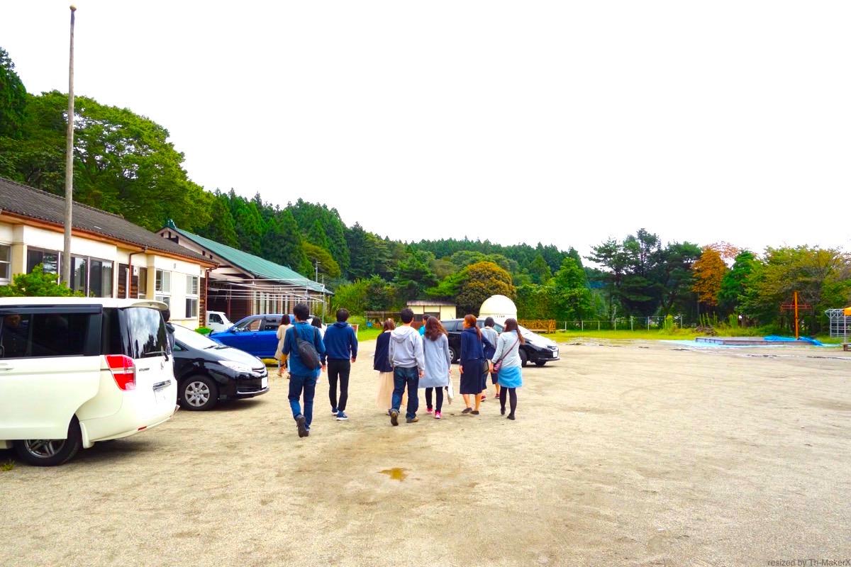 School With社員合宿 星降る学校くまの木の校庭